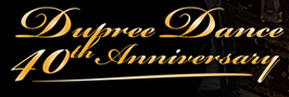 Dupree Dance 40th Anniversary logo